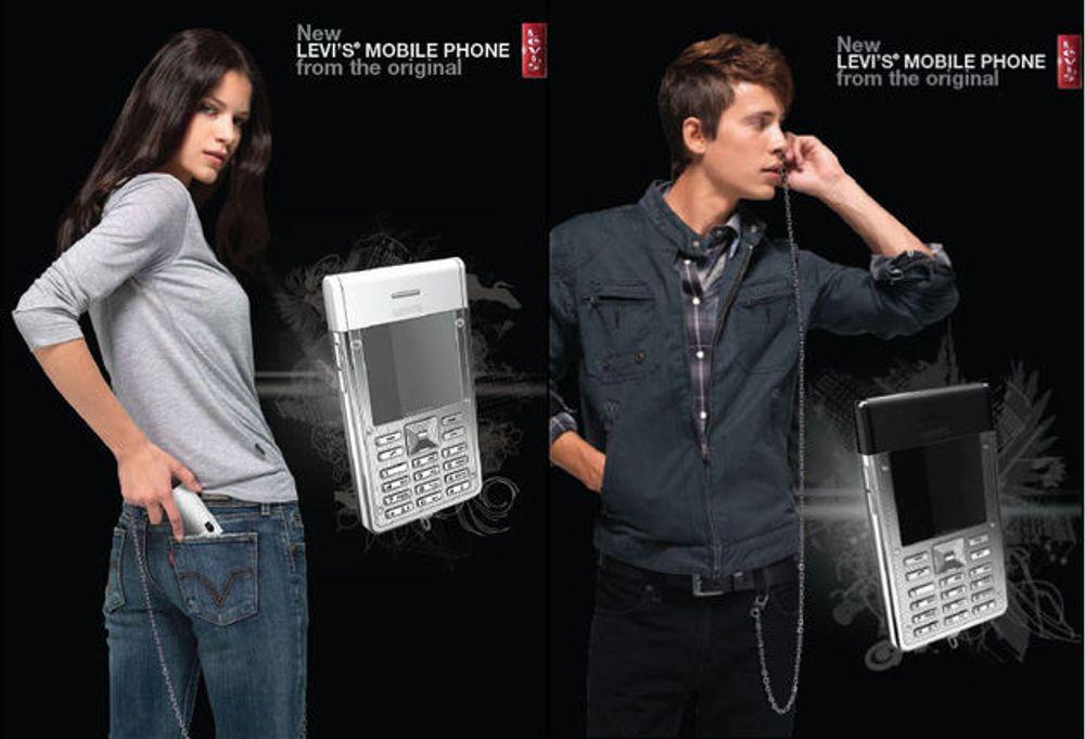 Levi's med egen mobil til Europa