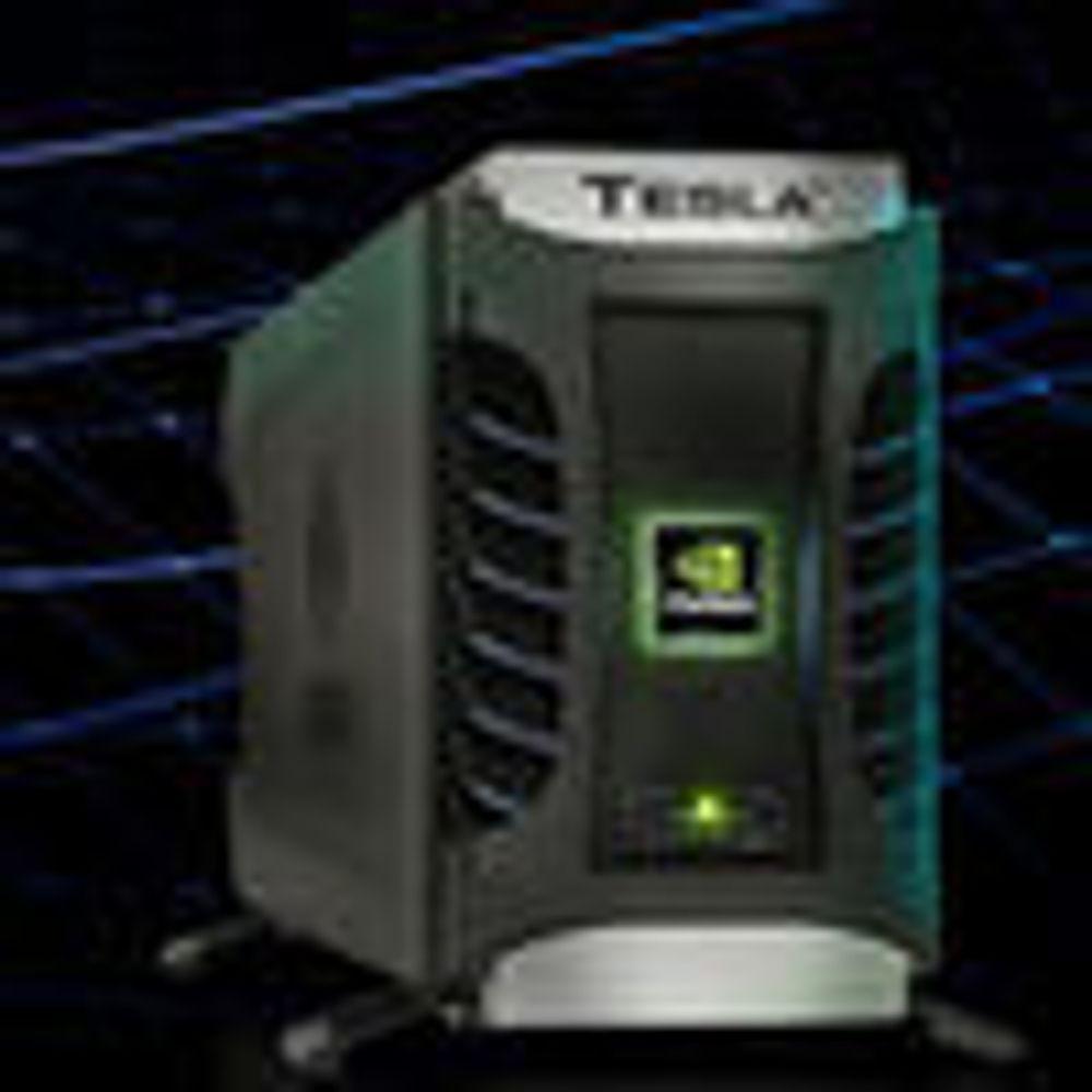 Nvidia gjør PC-en om til en superdatamaskin