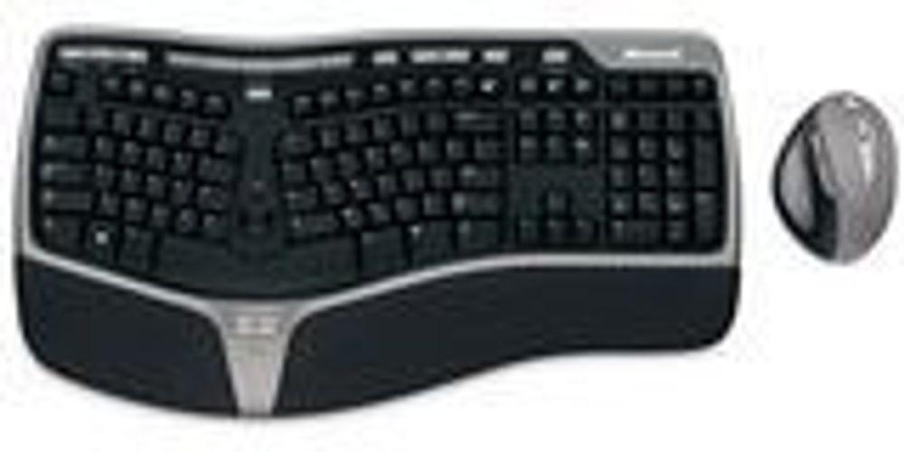 Trådløst og ergonomisk fra Microsoft