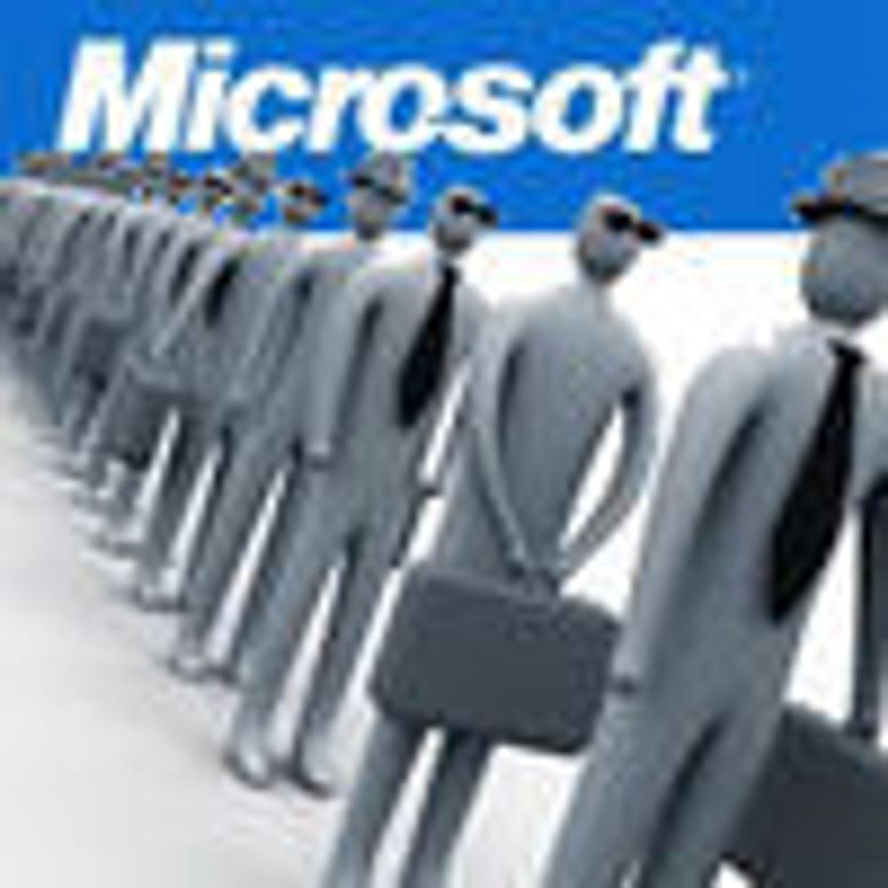 Microsoft-spesialist doblet staben på ett år
