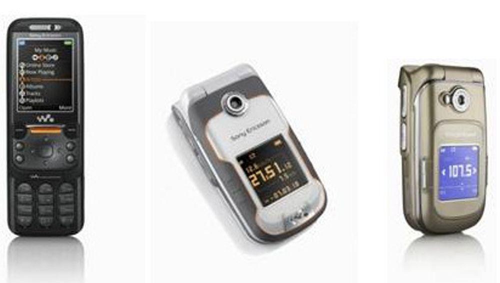 Første mobiltelefoner som gjenkjenner musikk
