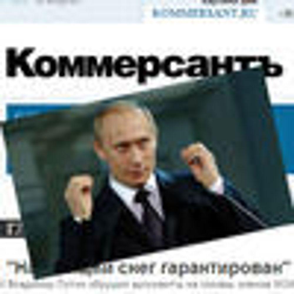Opposisjonen anklager Putin for kyberkrig