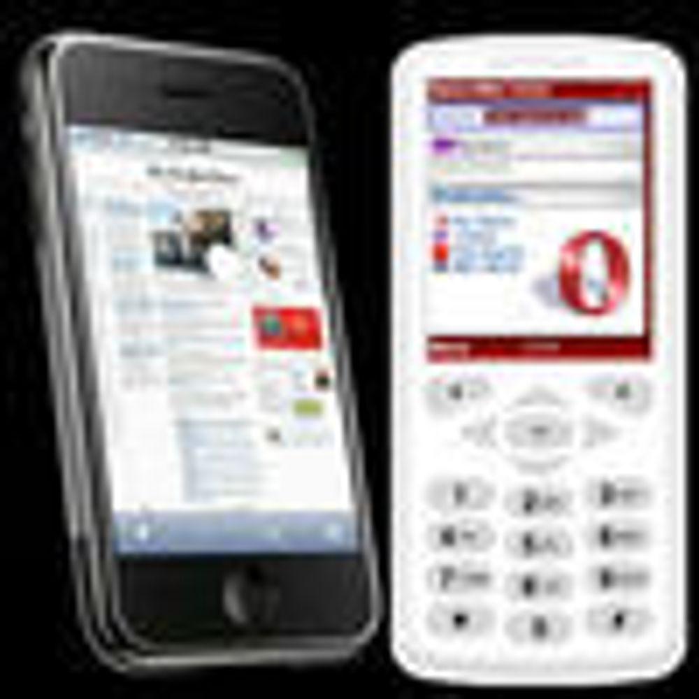 Tror Opera vil tjene på iPhone-lanseringen