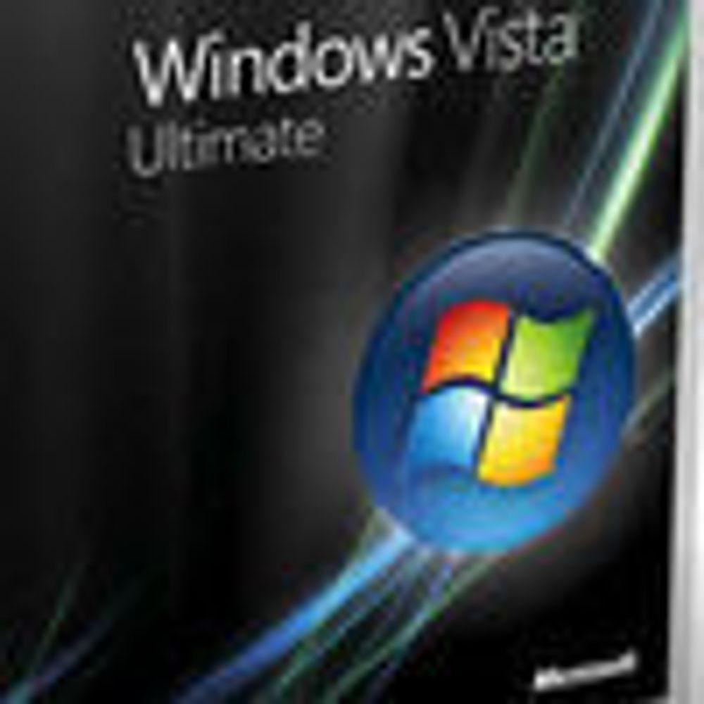 Microsoft beklager manglende Vista-tillegg