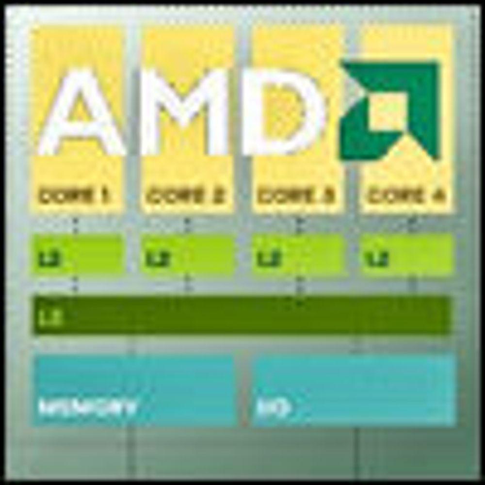 AMD snart klar med firekjernet Opteron