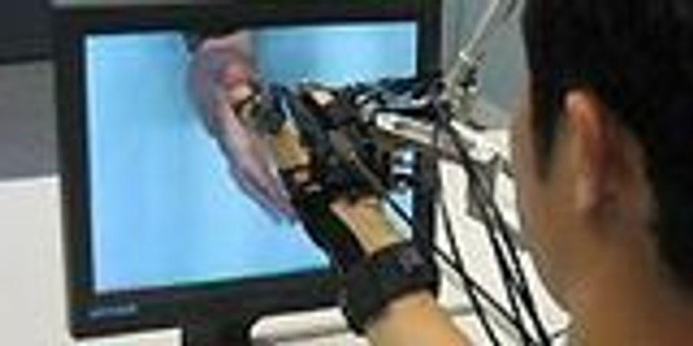 Ta på 3D-bilder med følsom hanske