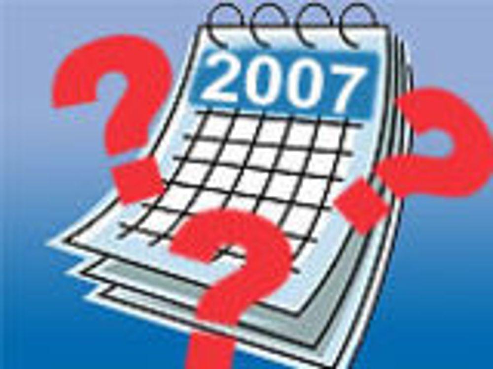 Spår fall i blogging til neste år