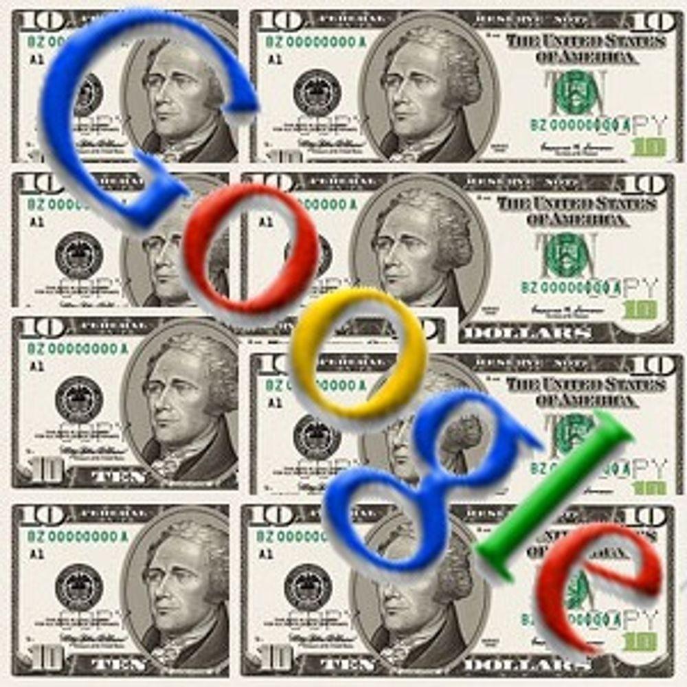 Ber kundene holde igjen betaling til Google