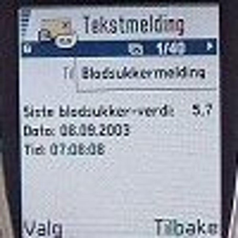 Ola og Kari taster tre SMS-er hver dag