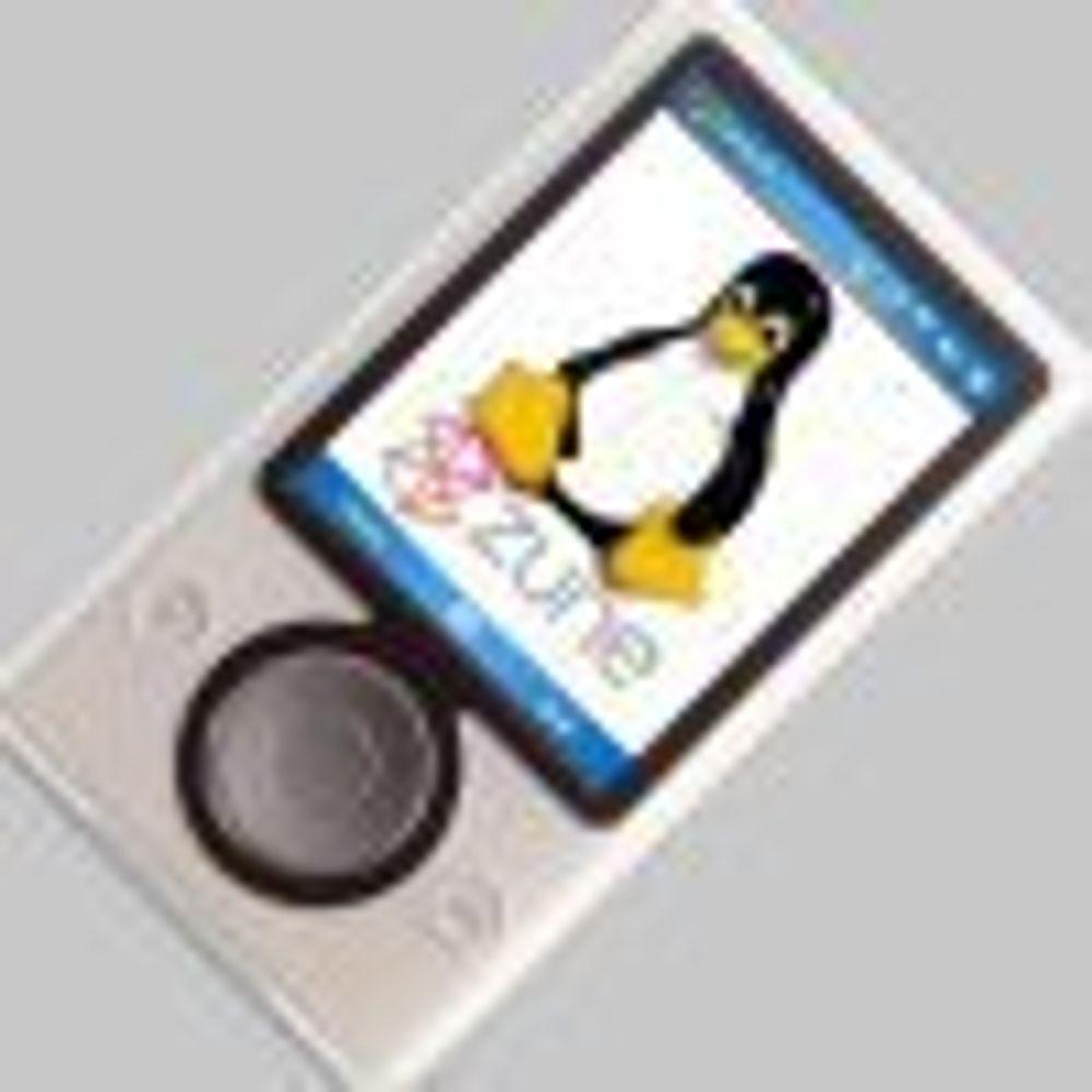Entusiaster forbereder Linux på Zune