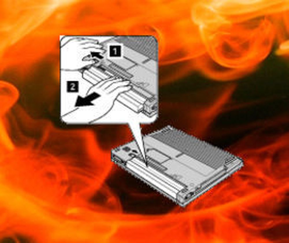Fujitsu Siemens sliter med årsak til PC-brann