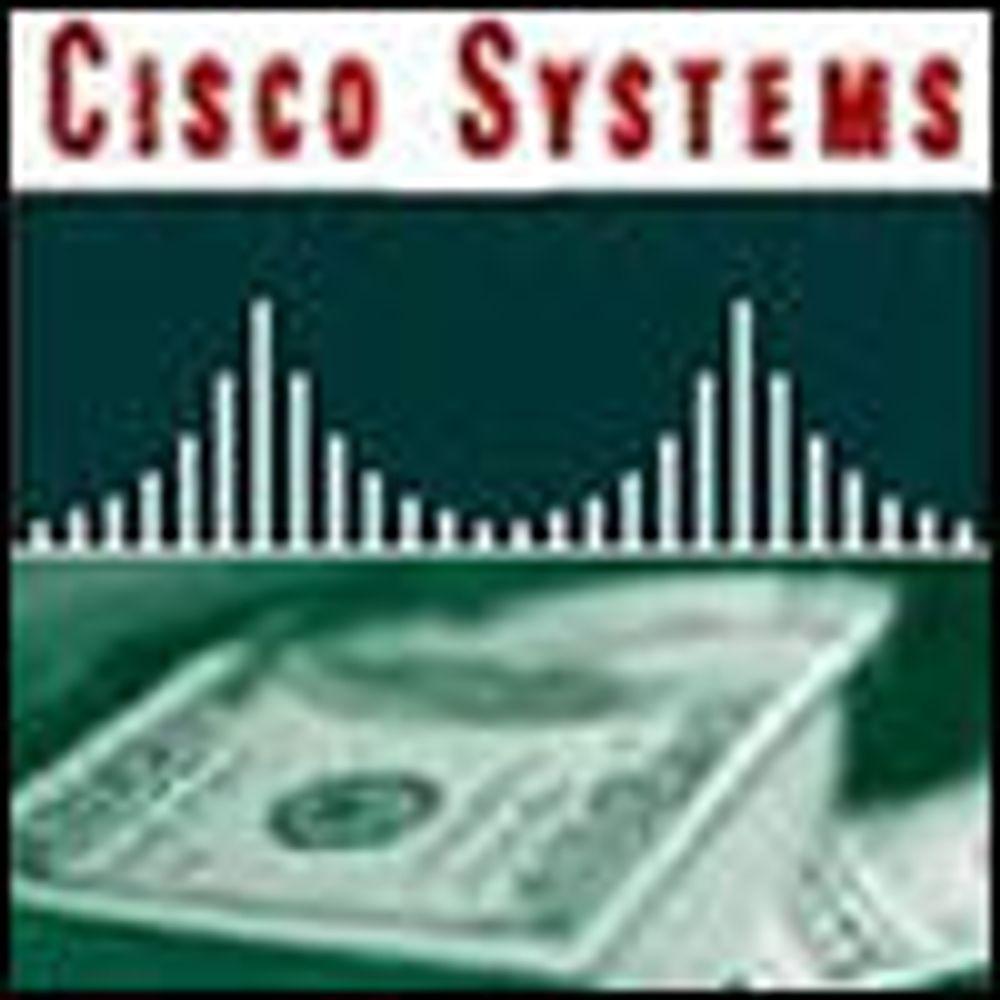 Cisco selger mer og tjener enda bedre