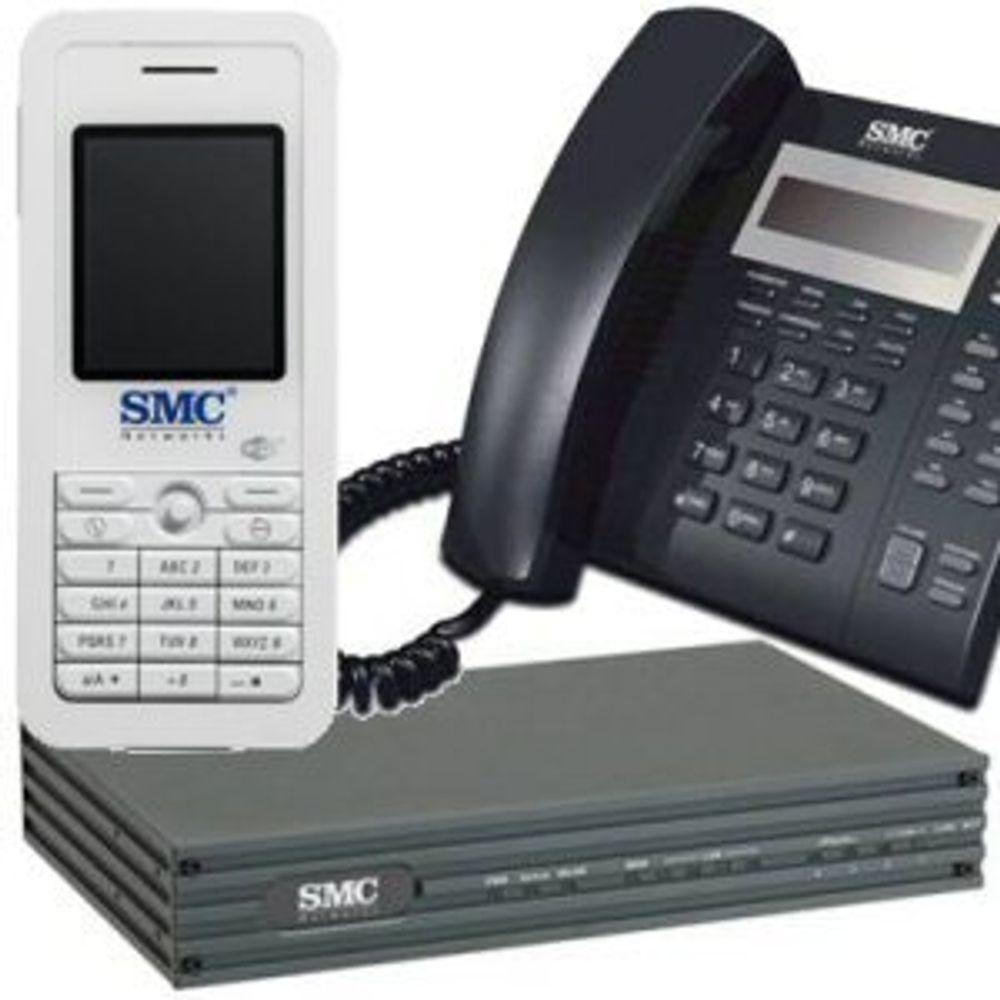 SMC trapper opp innen IP-telefoni