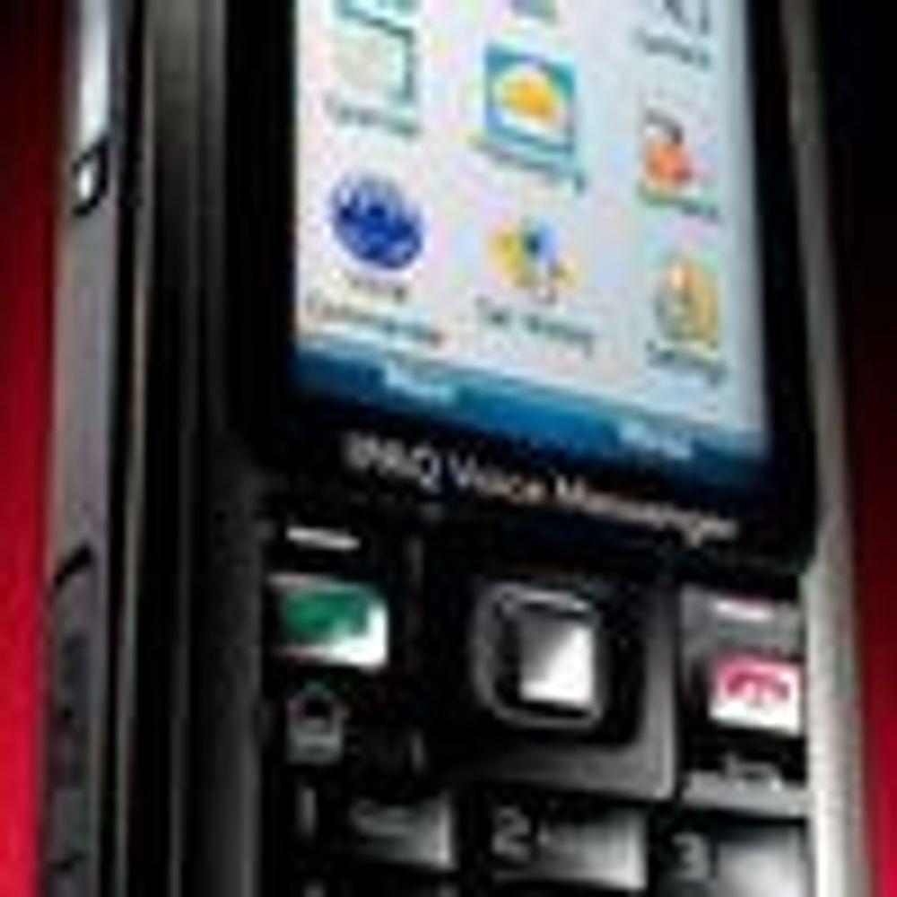 Annonserte Ipaq-mobil med ny Windows