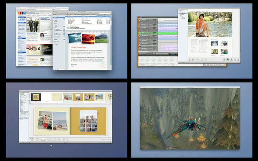 Masse detaljer sluppet om Mac OS X Leopard