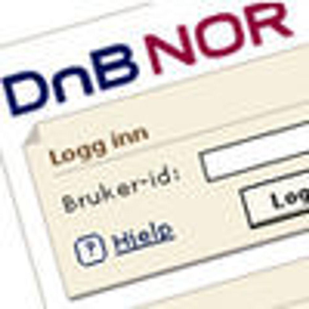 DnB Nor fikk til slutt reparert nettbanken
