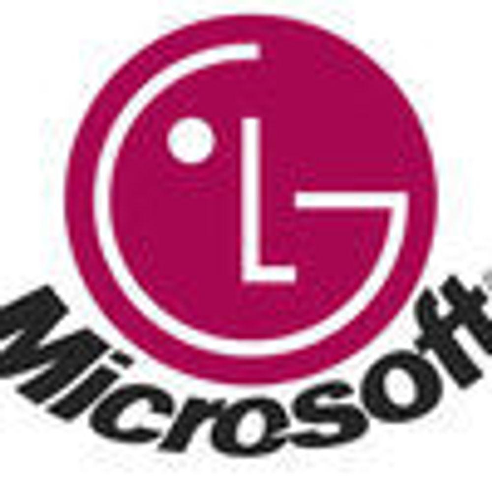 Microsoft og LG skal utveksle patenter