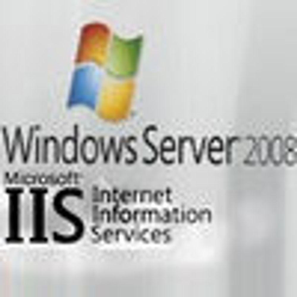 Sikrere webserver i Windows Server 2008