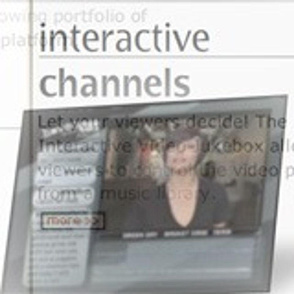 Norsk selskap med interaktivt tv til USA