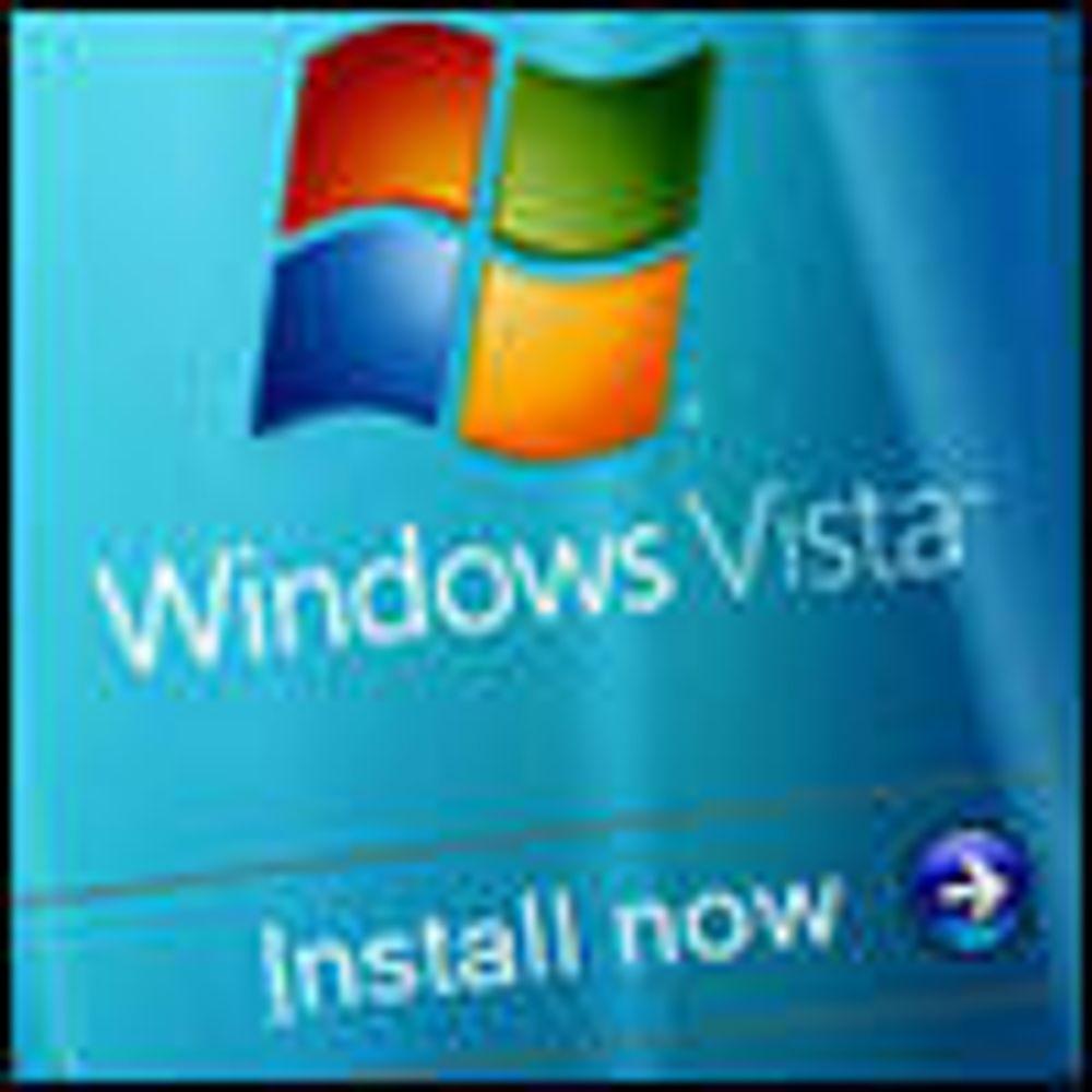 Vista kan fritt flyttes fra PC til PC