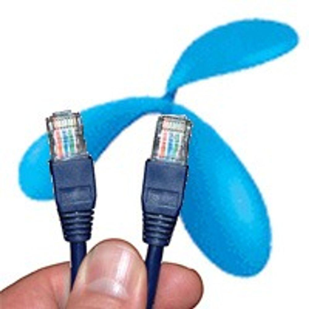 Telenor setter opp ADSL-hastighetene