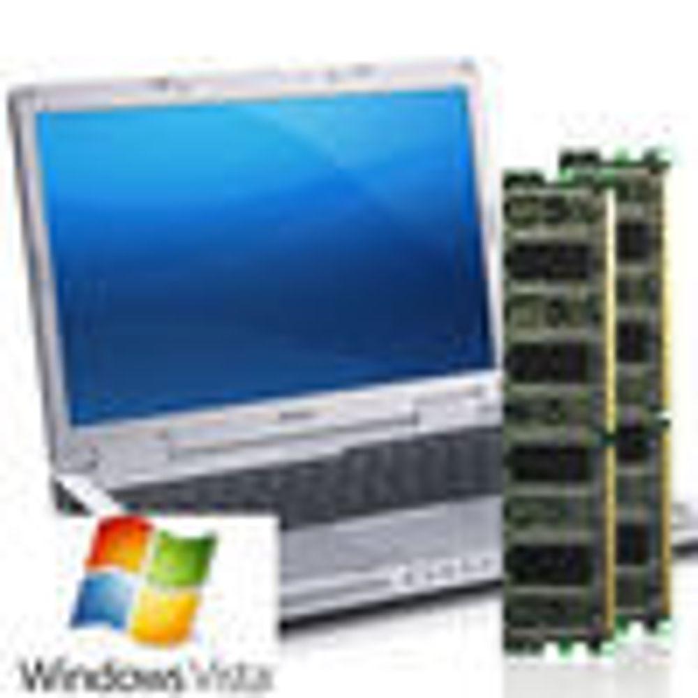 Dell mener Vista krever enda mer minne