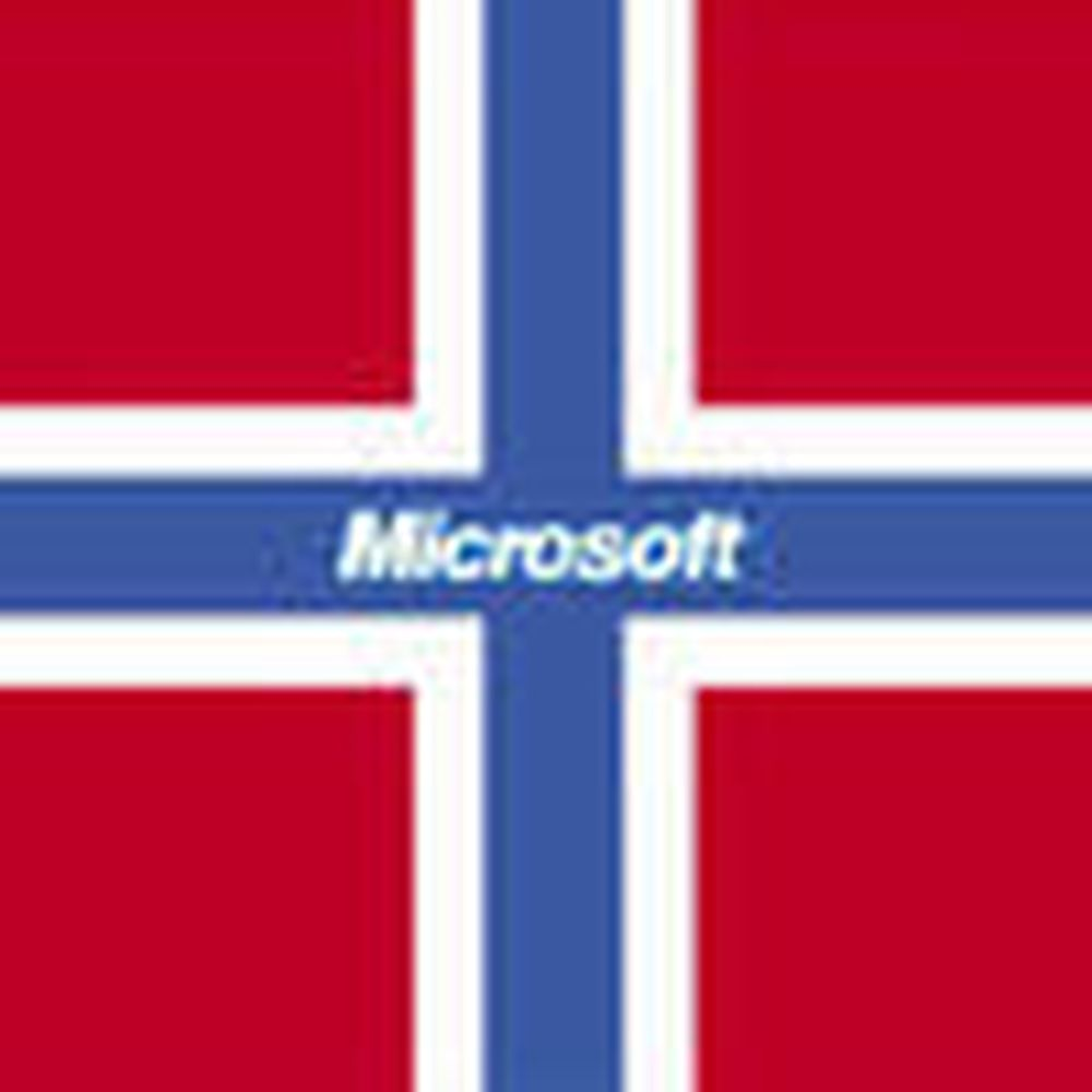Microsoft gjør det spesielt godt i Norge