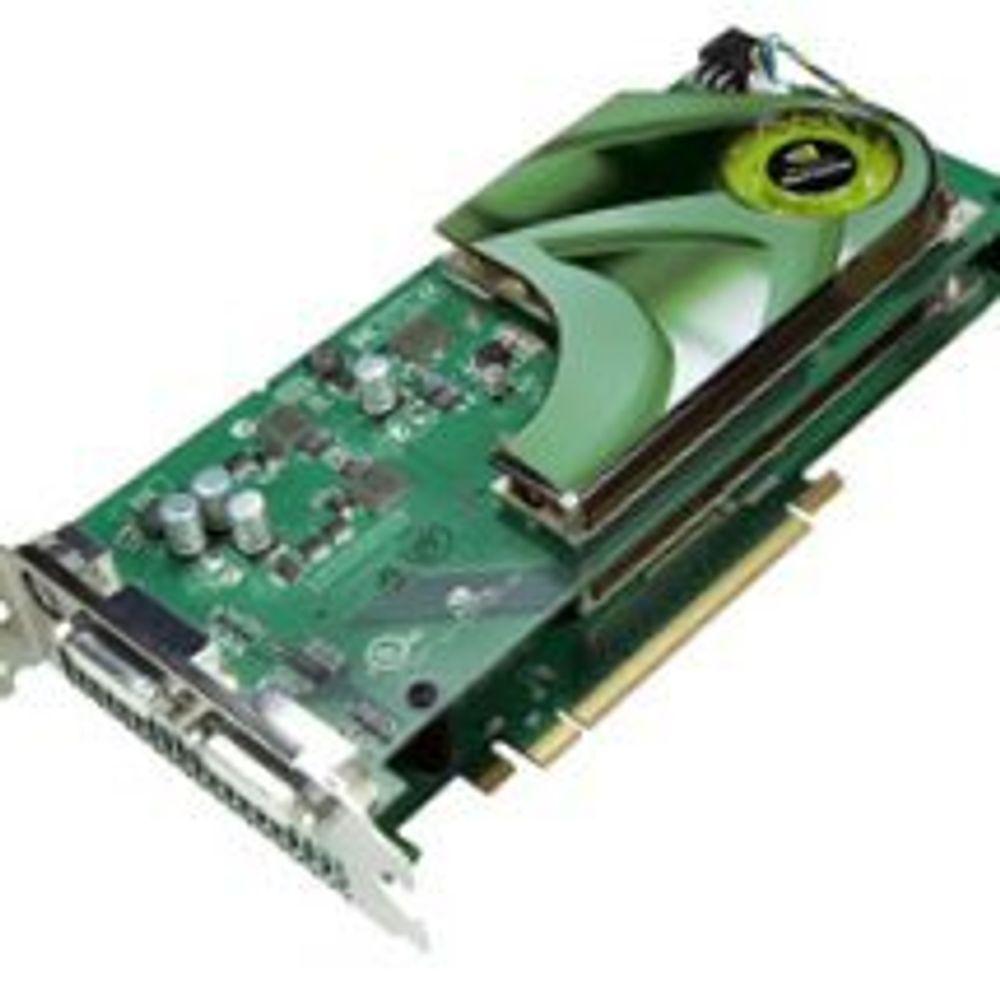 To prosessorer i nytt Nvidia-kort