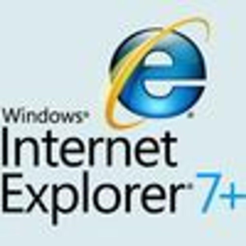 Døper om nettleseren i Windows Vista