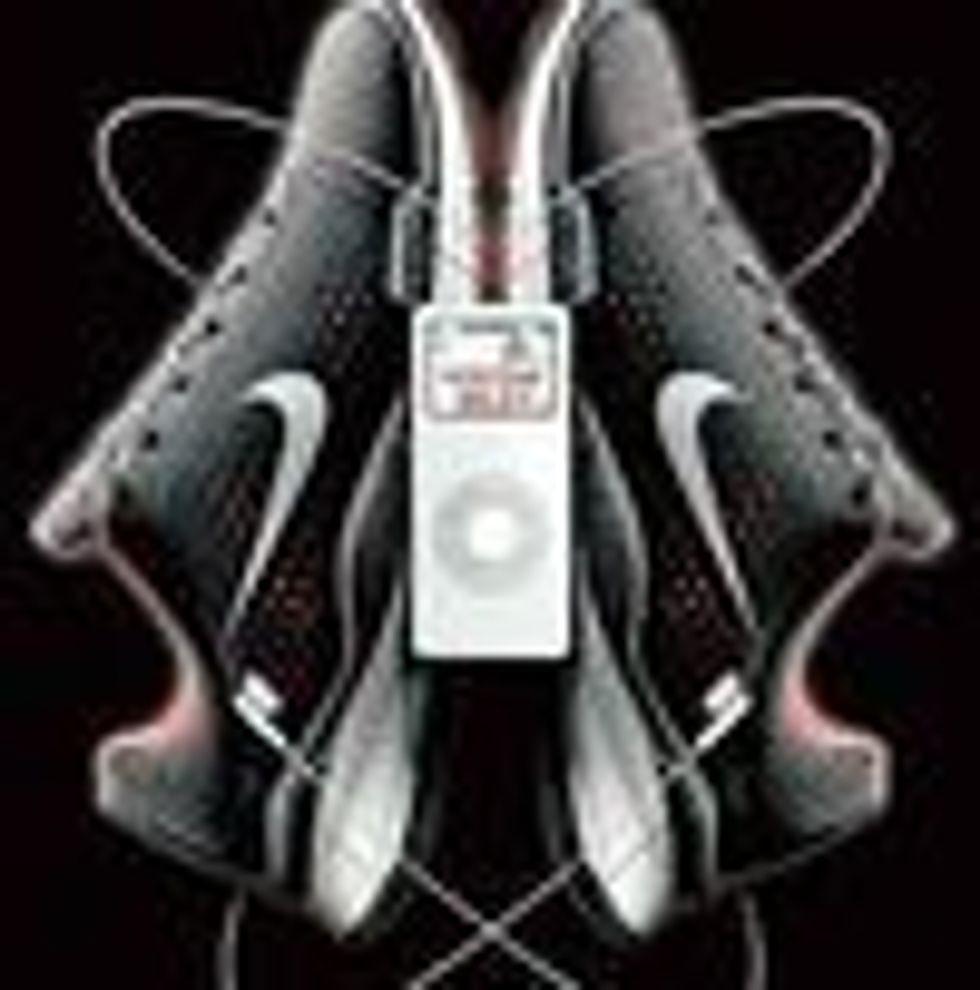 Apples iPod kobles til Nike joggesko