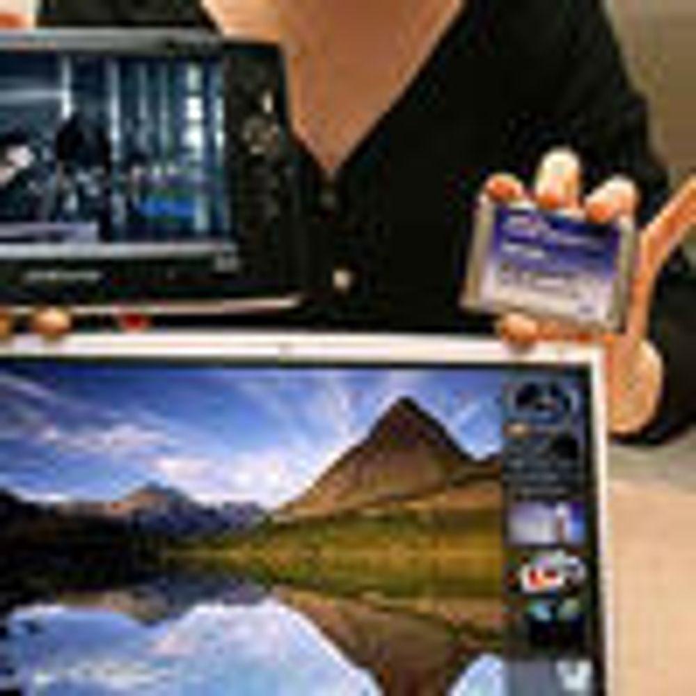 Klargjør bærbare PC-er med flash-harddisk