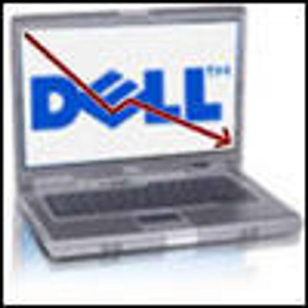 Resultatfall for PC-leverandøren Dell