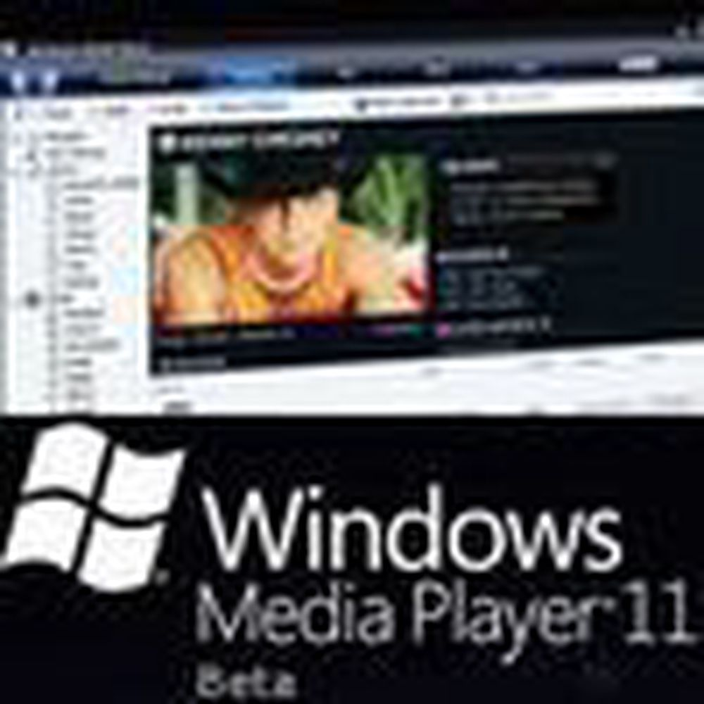Åpen testversjon av ny Windows Media Player