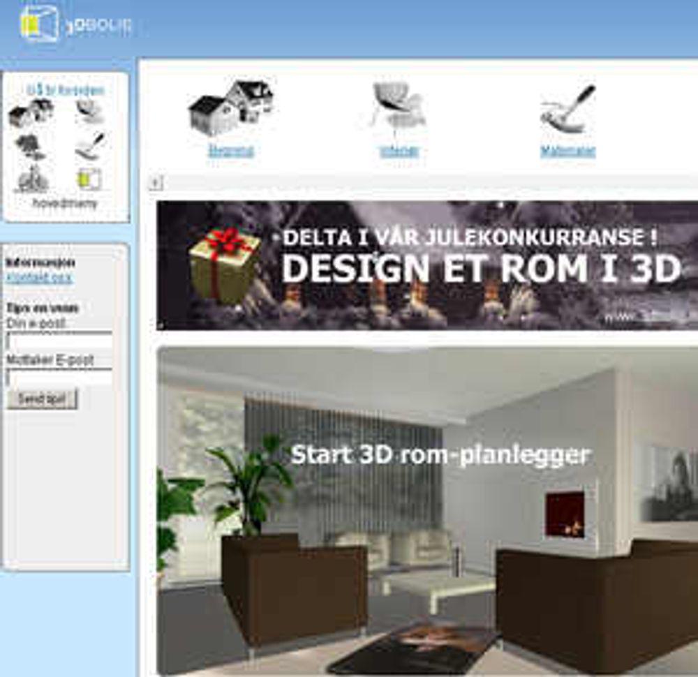 Nytt gratis 3D-verktøy til boligmarkedet