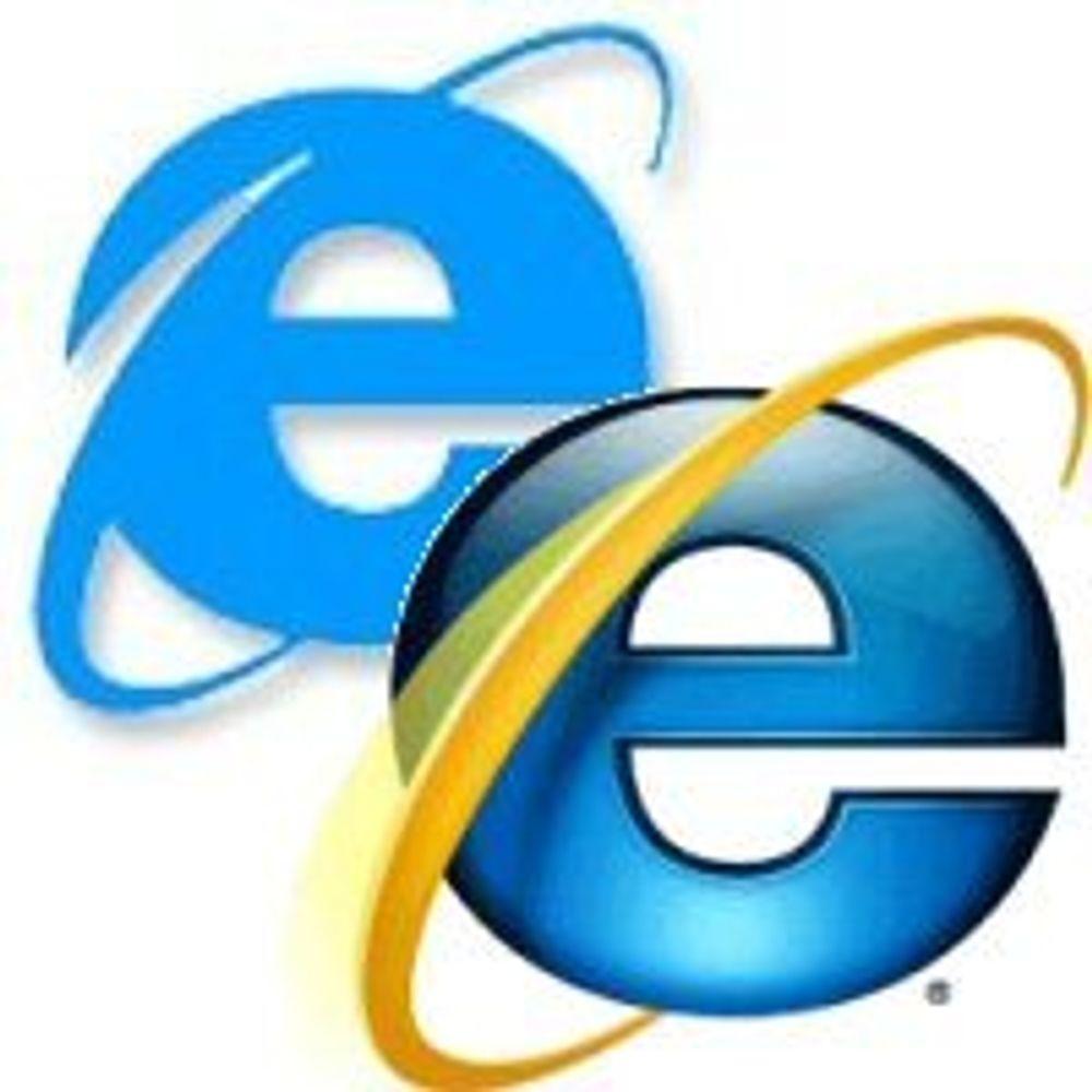 Midlertidig IE-løsning for webutviklere