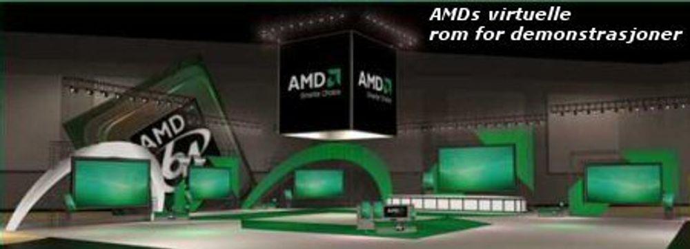 AMD viste ekte firekjernet prosessor