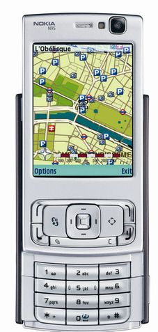 Nokia med store planer for GPS-mobiler