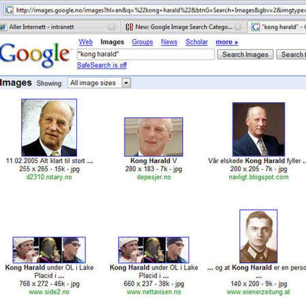 Ansiktsgjenkjenning snikinnført i Google-søk