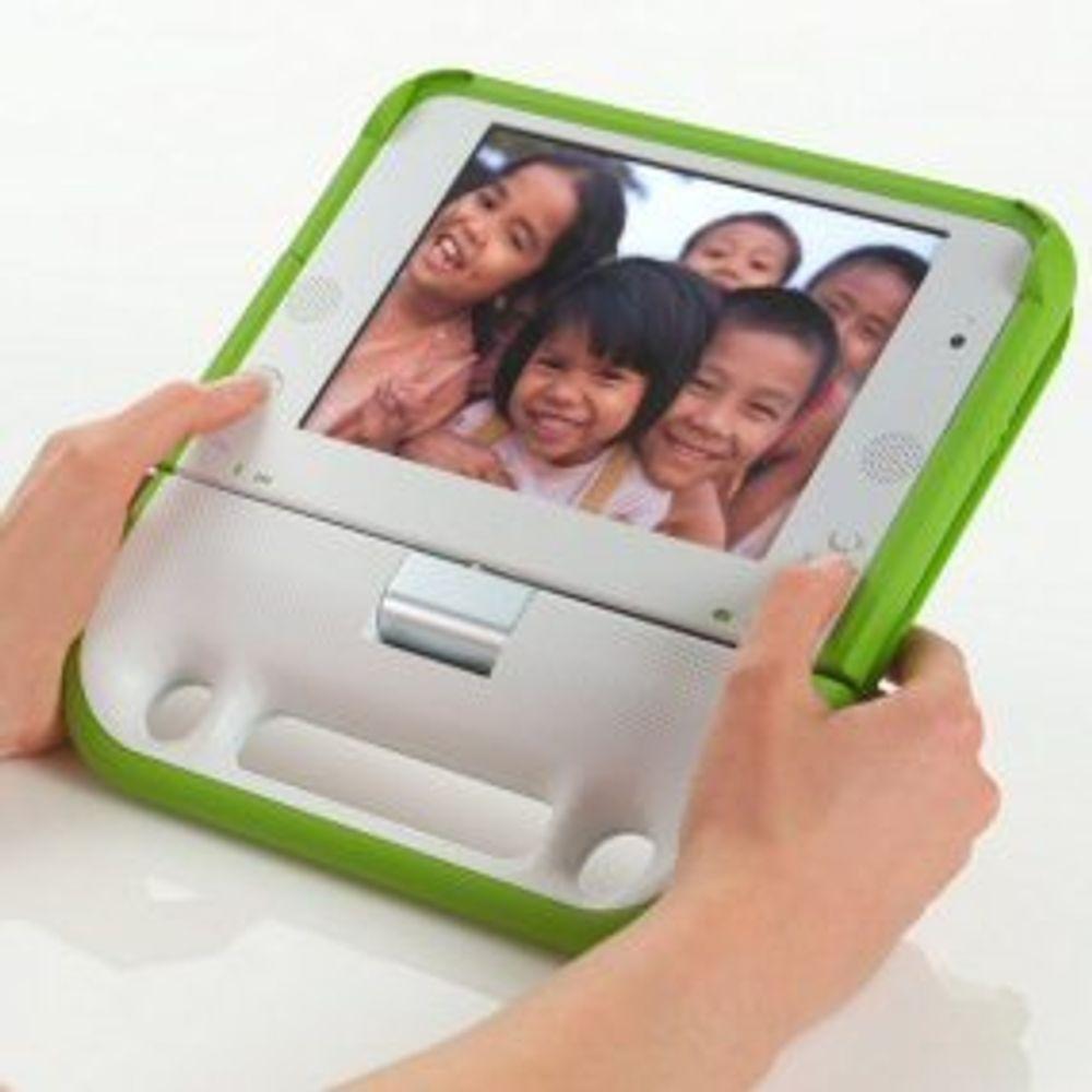 Alle libyske barn får hver sin bærbare PC