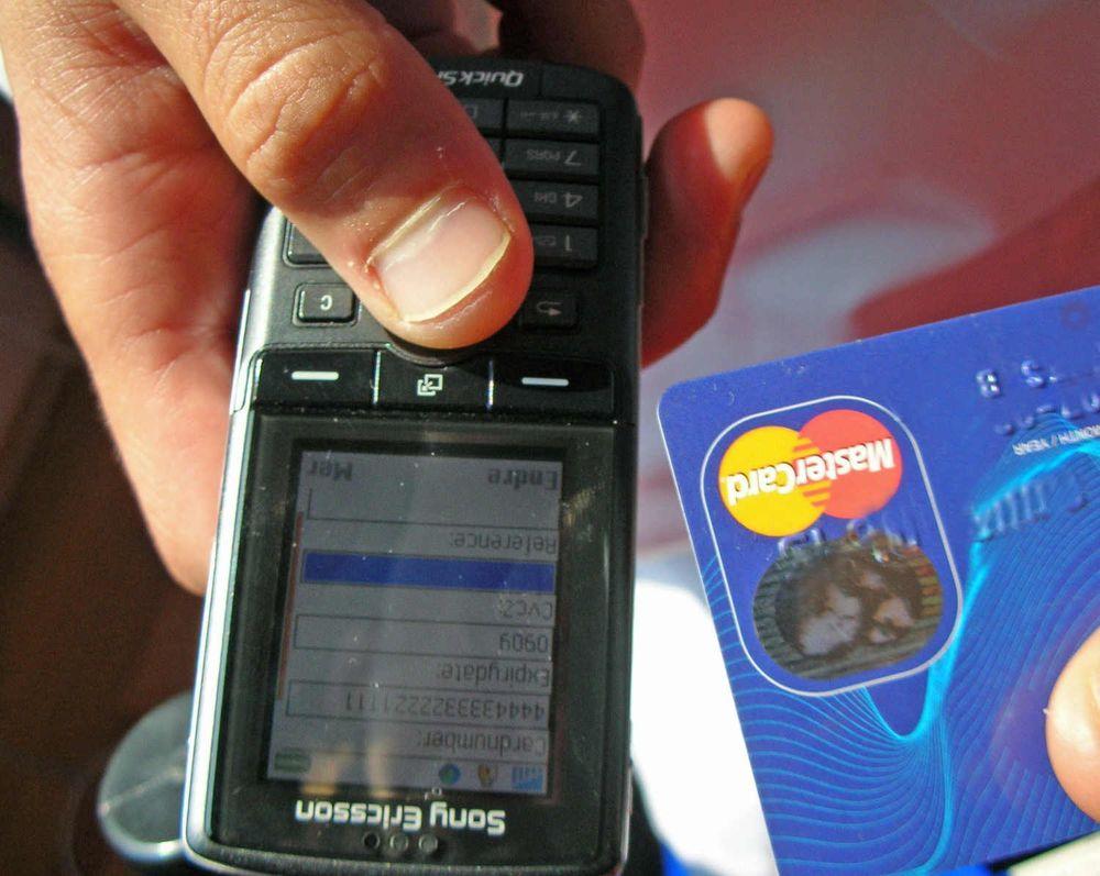 Gjør mobilen til betalingsterminal