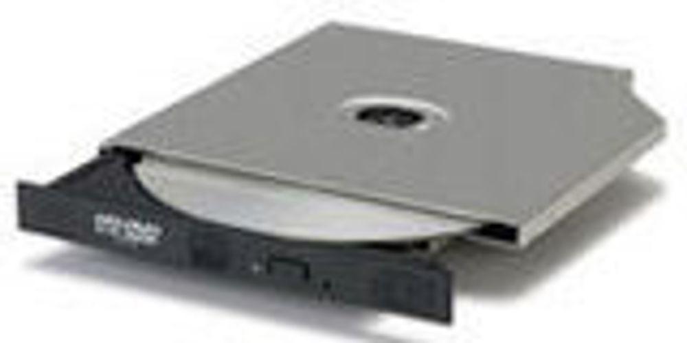 Tynn brenner støtter overskrivbar HD DVD