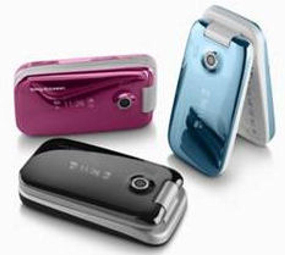 Tynt og blankt fra Sony Ericsson