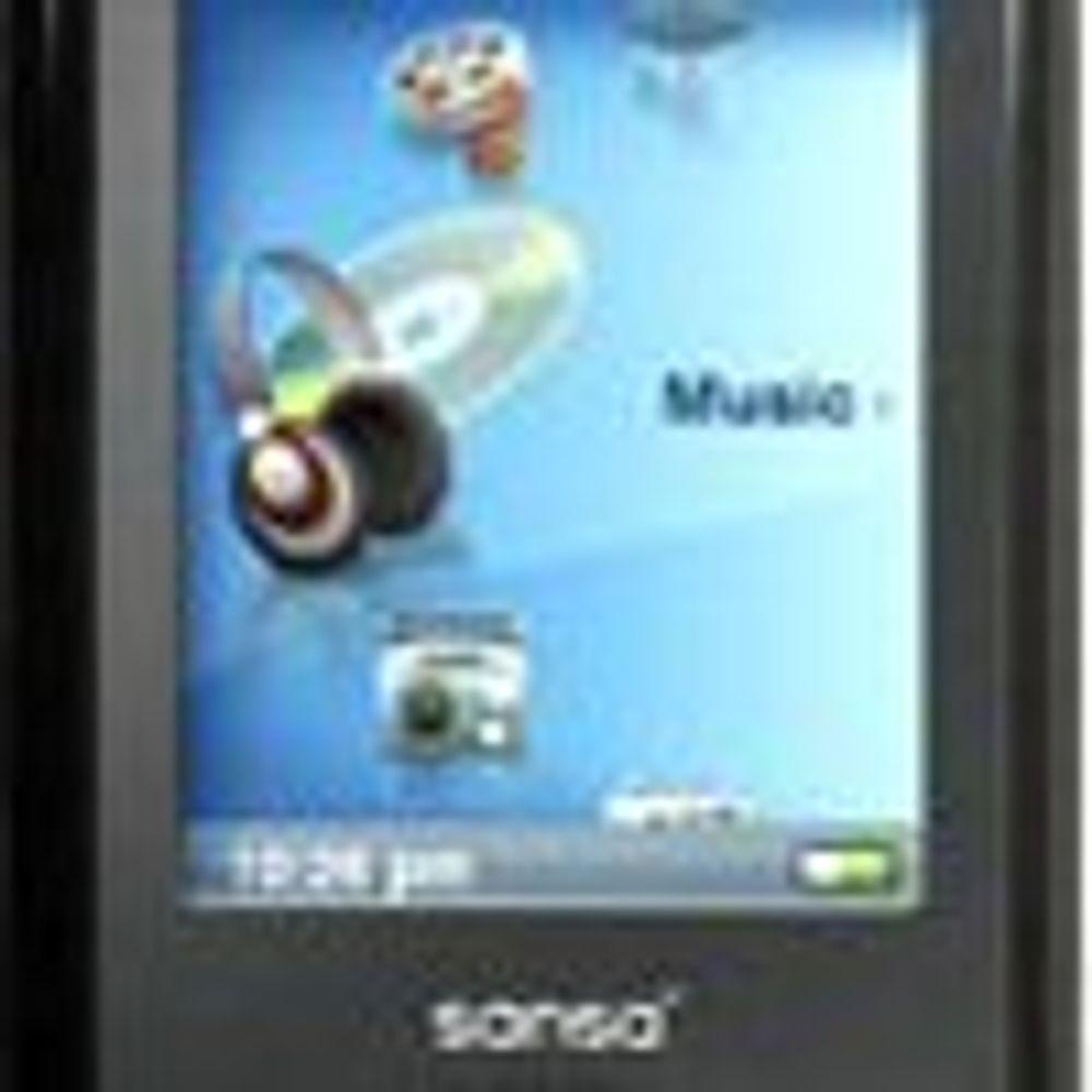SanDisk utfordrer Apple iPod på pris