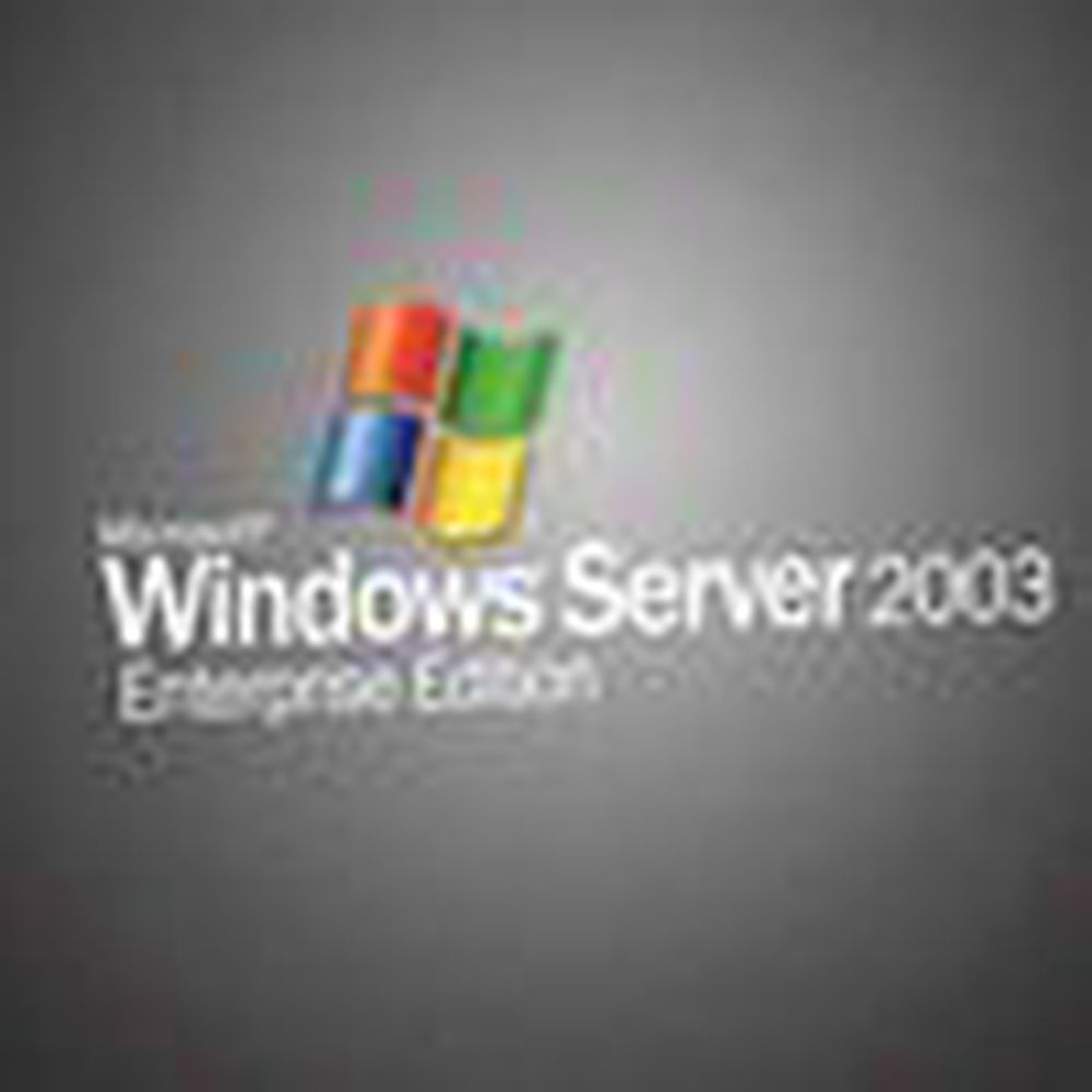Ny servicepakke sluppet til Windows Server 2003