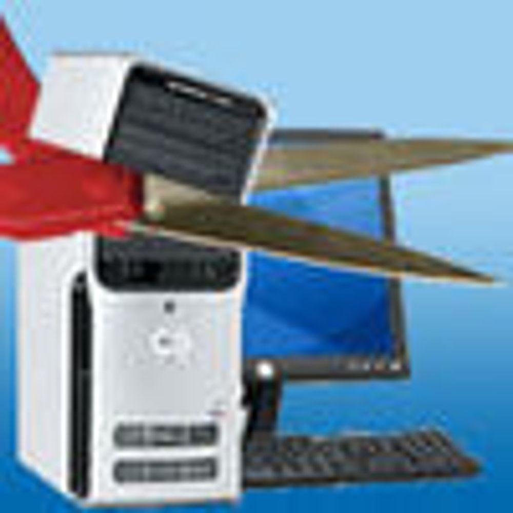 Halvert marked for hjemme PC-avtaler