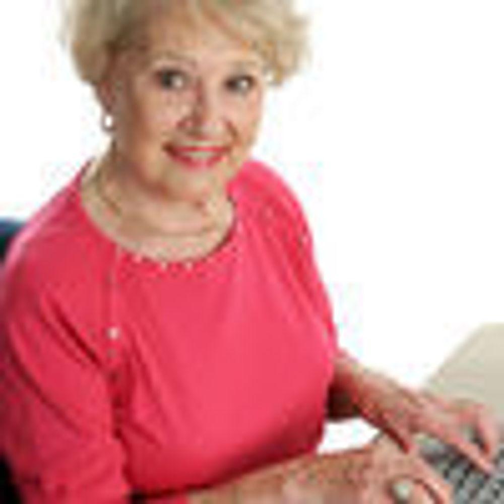 Eldre kvinner har lært mye om Internett