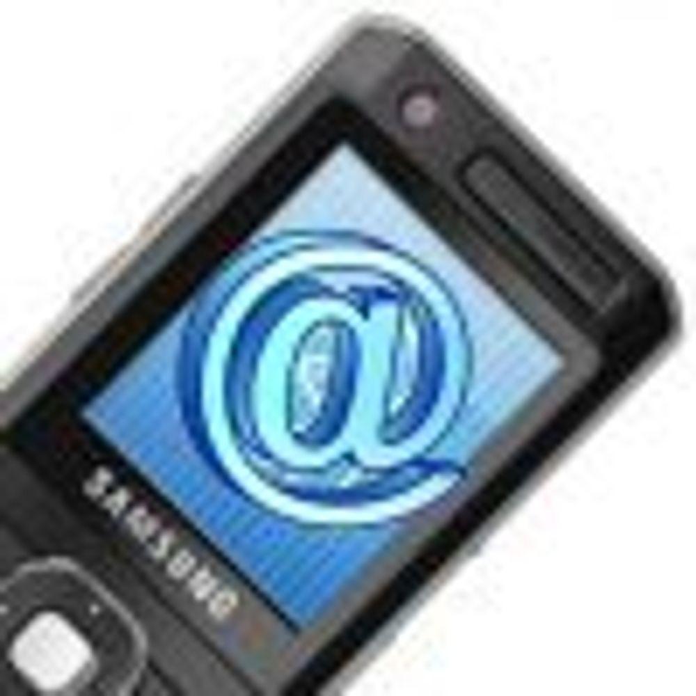 Mobil e-post brukes stadig mer på jobb