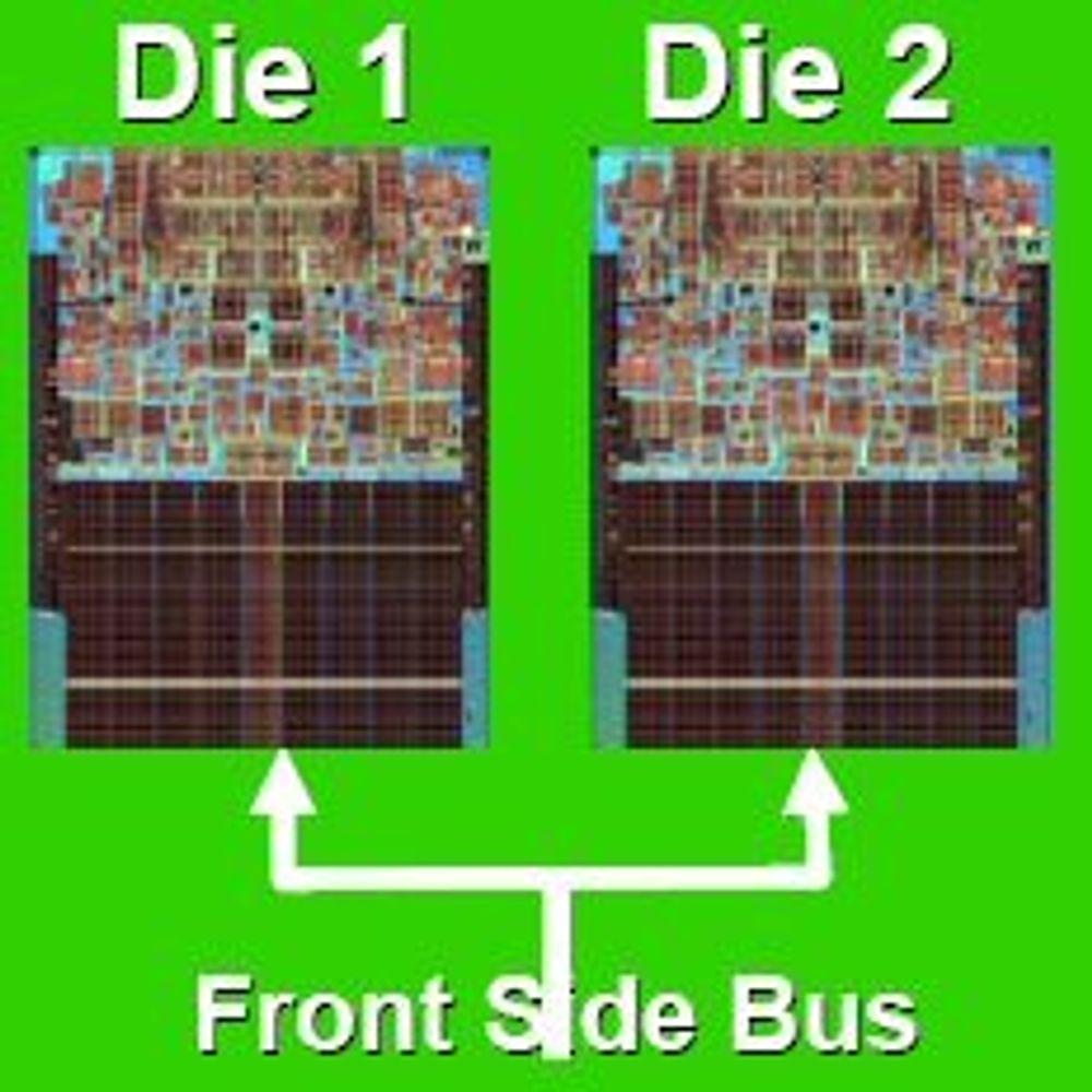 Intel med firekjernede serverprosessorer