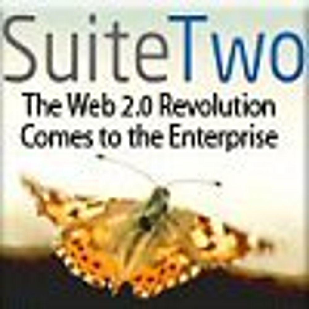 Skraper sammen Web 2.0-suite for bedrifter