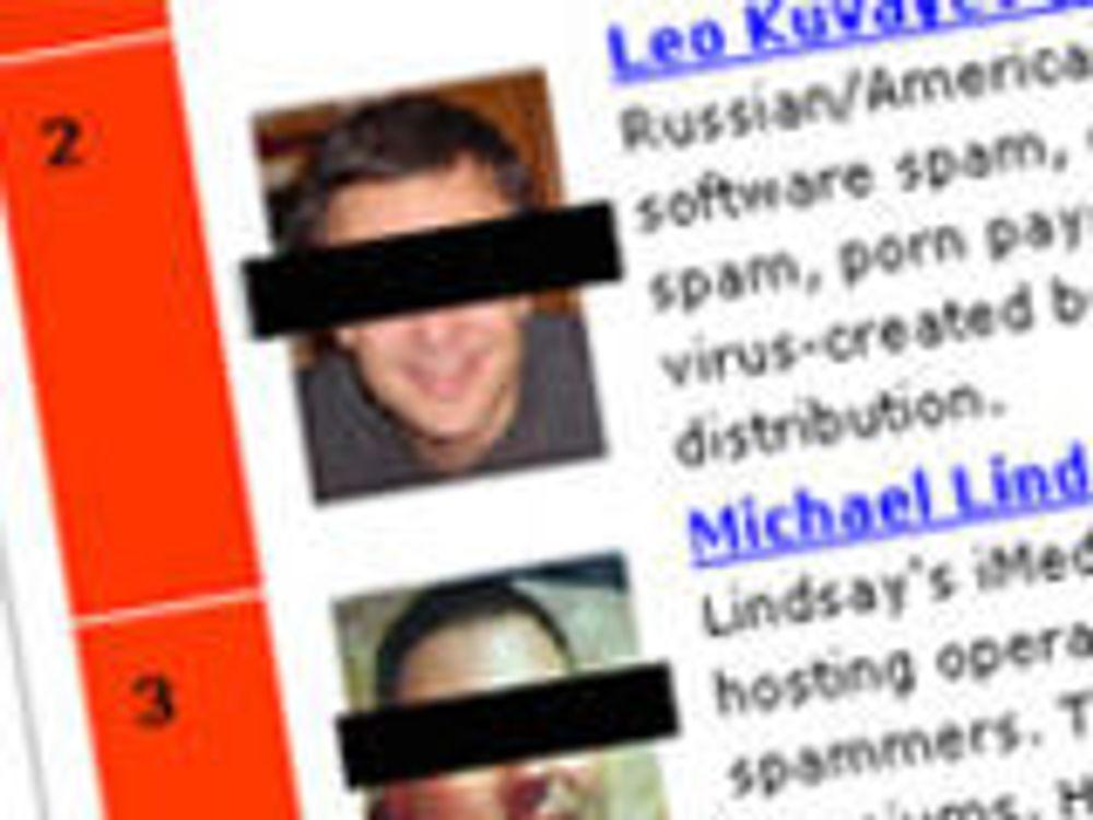 200 spammere oversvømmer verden